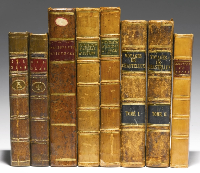 George Washington Book Collection at Sothebys Auction House