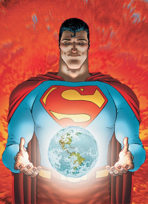All-Star Superman Comic Book Cover Art 10 DC Comics