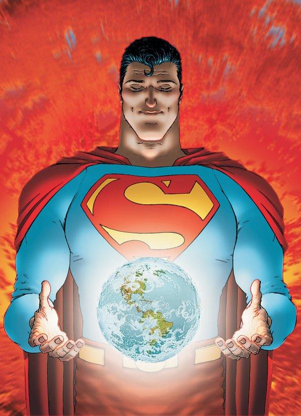 All-Star Superman Comic Book Cover Art 10 DC Comics