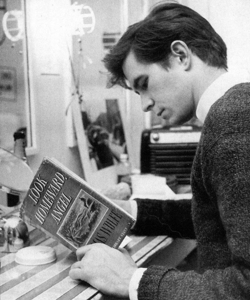 Awesome People Reading Books Anthony Perkins