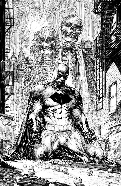 DC Comics BATMAN BLACK AND WHITE Comic Book by Chip Kidd