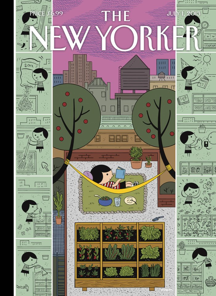 Ivan Brunetti Cover Artwork for The New Yorker magazine
