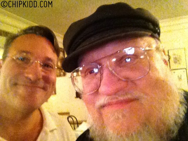 2013 SDCC George R R Martin and Chip Kidd