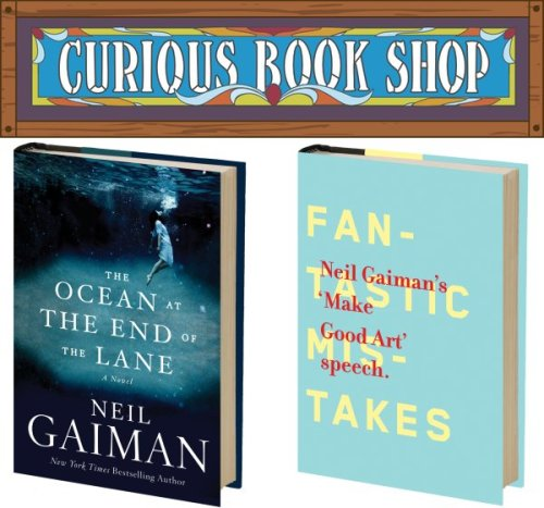 Curious Book Shop Neil Gaiman Books Review Chip Kidd