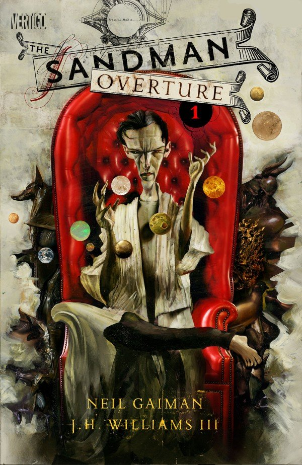 Sandman Overture Neil Gaiman Vertigo DC Comics Graphic Novel Book