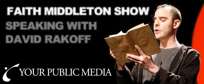 David Rakoff Book Interview on The Faith Middleton Radio Podcast