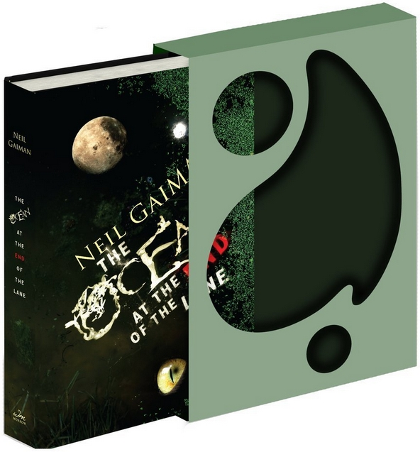 Neil Gaiman The Ocean at the End of the Lane Deluxe Signed Edition Autographed Copy