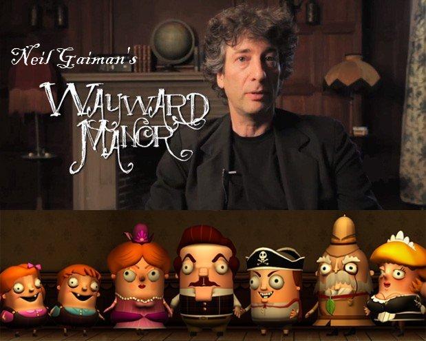 Neil Gaiman's WAYWARD MANOR Video Game News