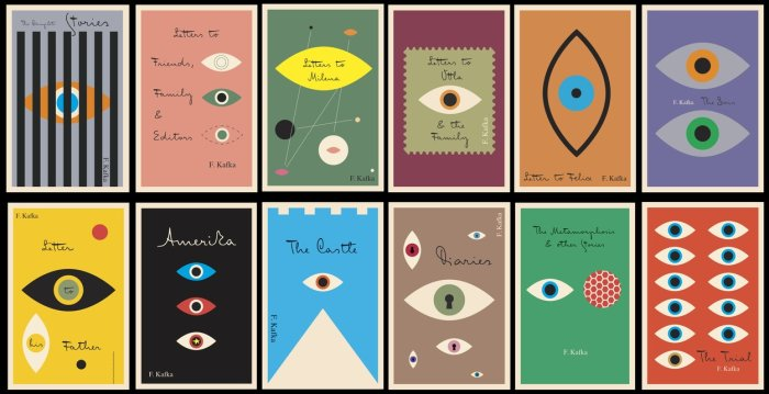Peter Mendelsund Franz Kafka Book Cover Designs