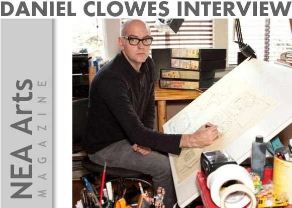 Daniel Clowes Cartoonist Artist Interview NEA ARTS