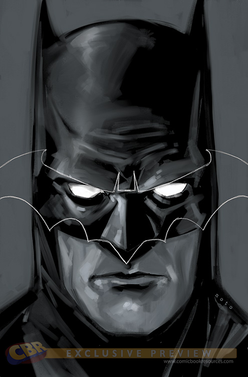 Batman Black and White #1 Variant Cover Phil Noto DC Comics