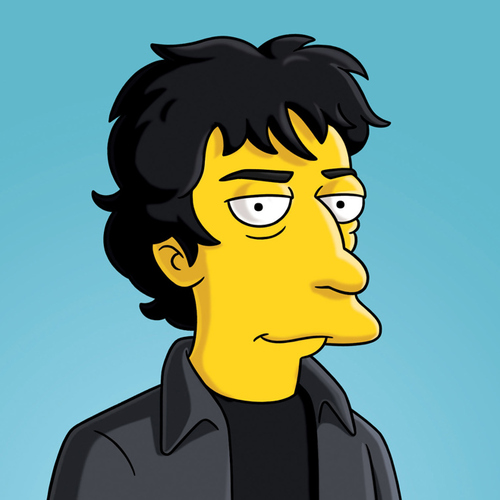 Neil Gaiman The Simpsons