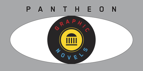 Pantheon Books Graffic Novel Book Publishing - New Logo
