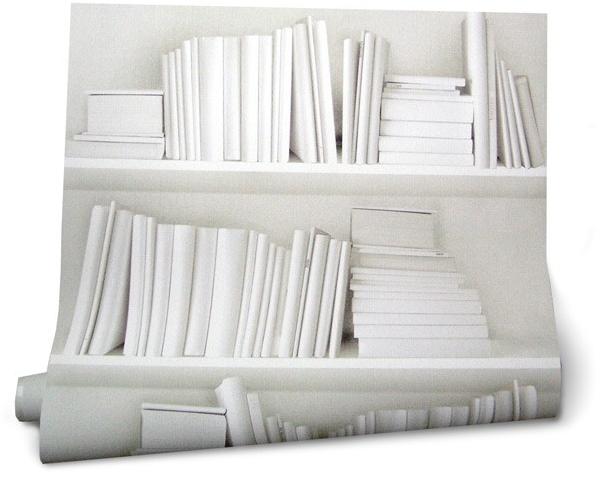 Wallpaper White Bookcase Book Covers Books 2