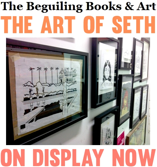 The Art of SETH David Rakoff Book Cover
