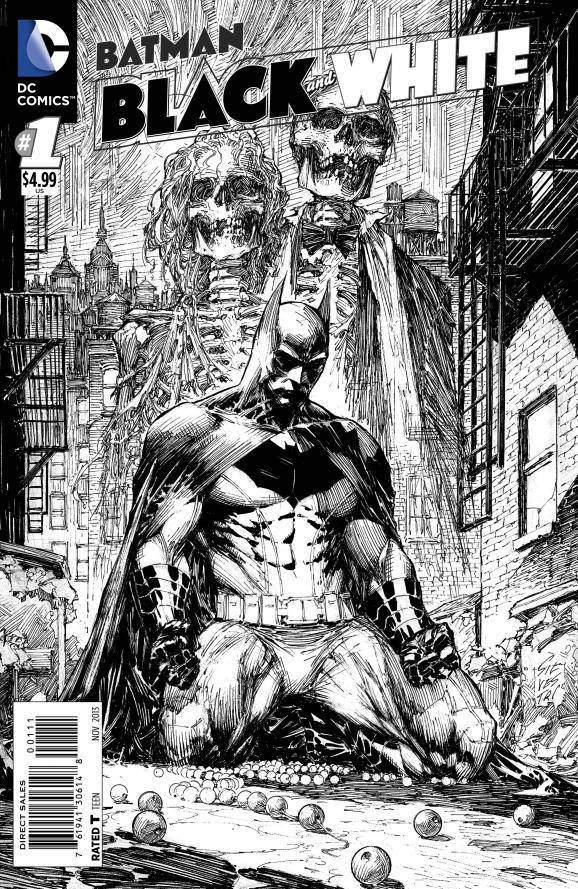 Cover 1 BATMAN Black and White 1 DC Comics