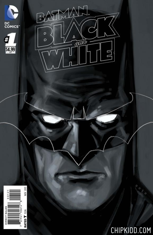 Cover 2 BATMAN Black and White 1 DC Comics