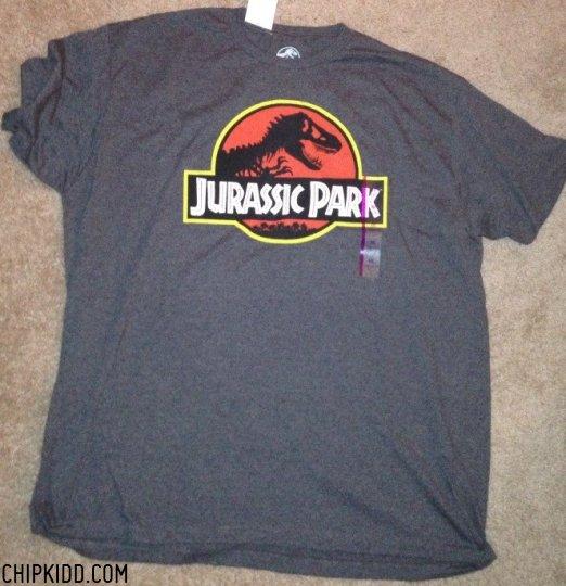 Jurassic Park Logo T-Shirt Chip Kidd Target Store
