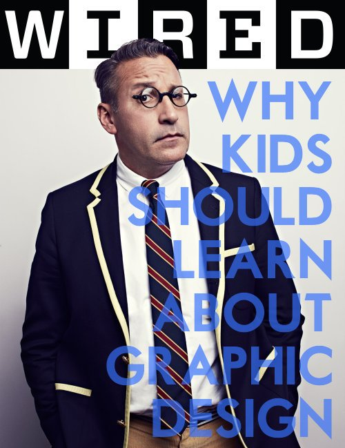Wired Magazine CHIP KIDD GO Graphic Design Interview