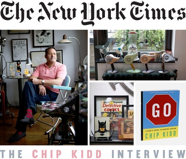 Chip Kidd GO GRAPHIC DESIGN Book at The New York Times