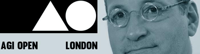 Chip Kidd AGI Open London 2013