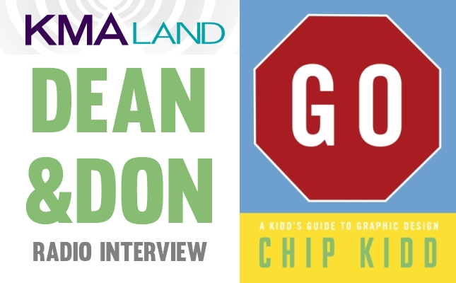 Dean and Don Radio Chip Kidd GO! A Kidd's Guide To Graphic Design