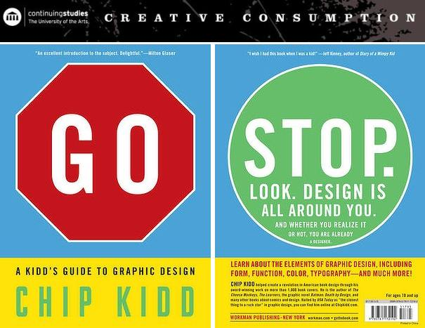 GO BOOK - A Kidd's Guide To Graphic Design by Chip Kidd