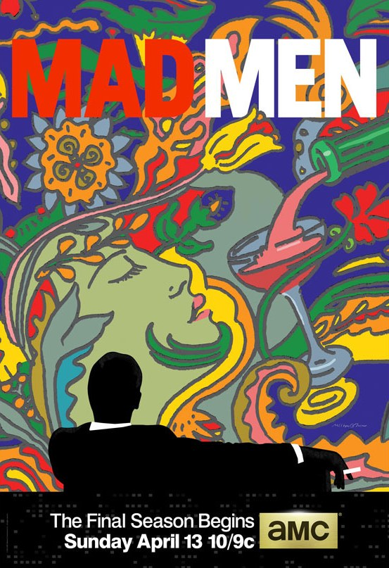 MAD MEN TV Show Poster by Milton Glaser